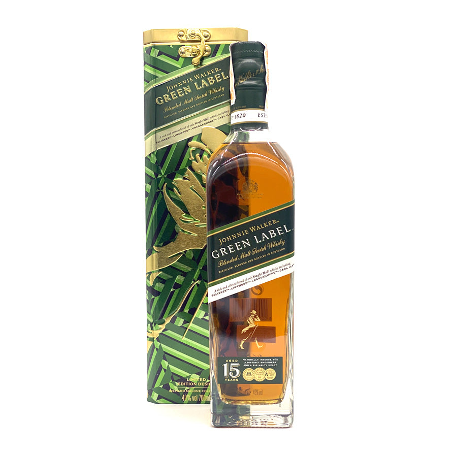 Johnnie Walker Green 700ml + FREE Canister