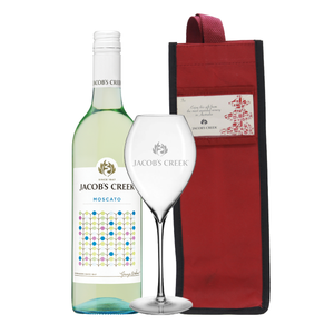 Jacob's Creek Moscato 750ml + FREE Jacob's Creek Glass and Wine Bag