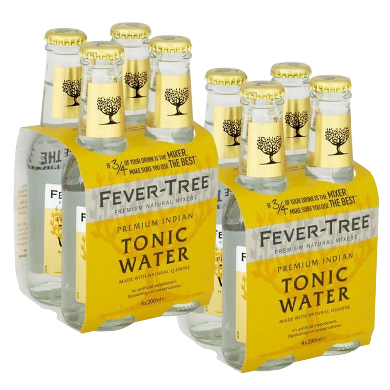 Fever Tree Indian Tonic Water 200ml (Buy 4, Get 4)