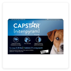 Capstar Flea Tablets for Dogs, 2-25 lbs