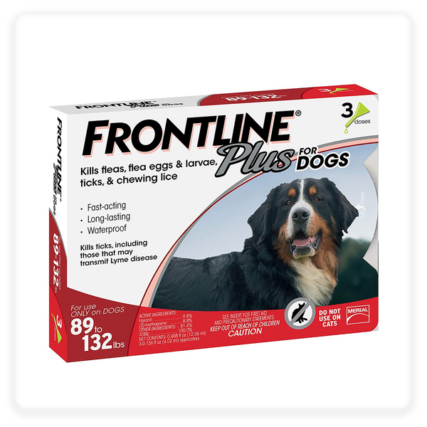 Frontline Gold Flea & Tick Treatment for Extra-Large Dogs, 89-132 lbs