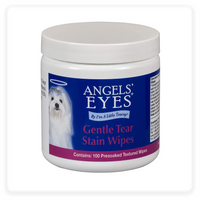Angels' Eyes Gentle Tear Stain Wipes for Dogs