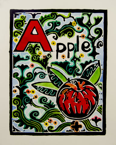 An Alphabet - A is for Apple