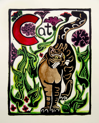 An Alphabet - C is for Cat