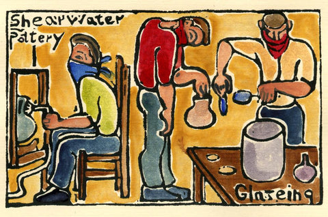 Shearwater Pottery – Glazing