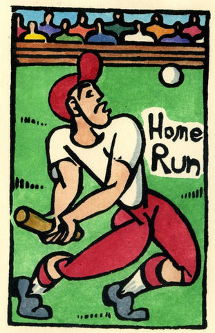 Baseball - Home Run