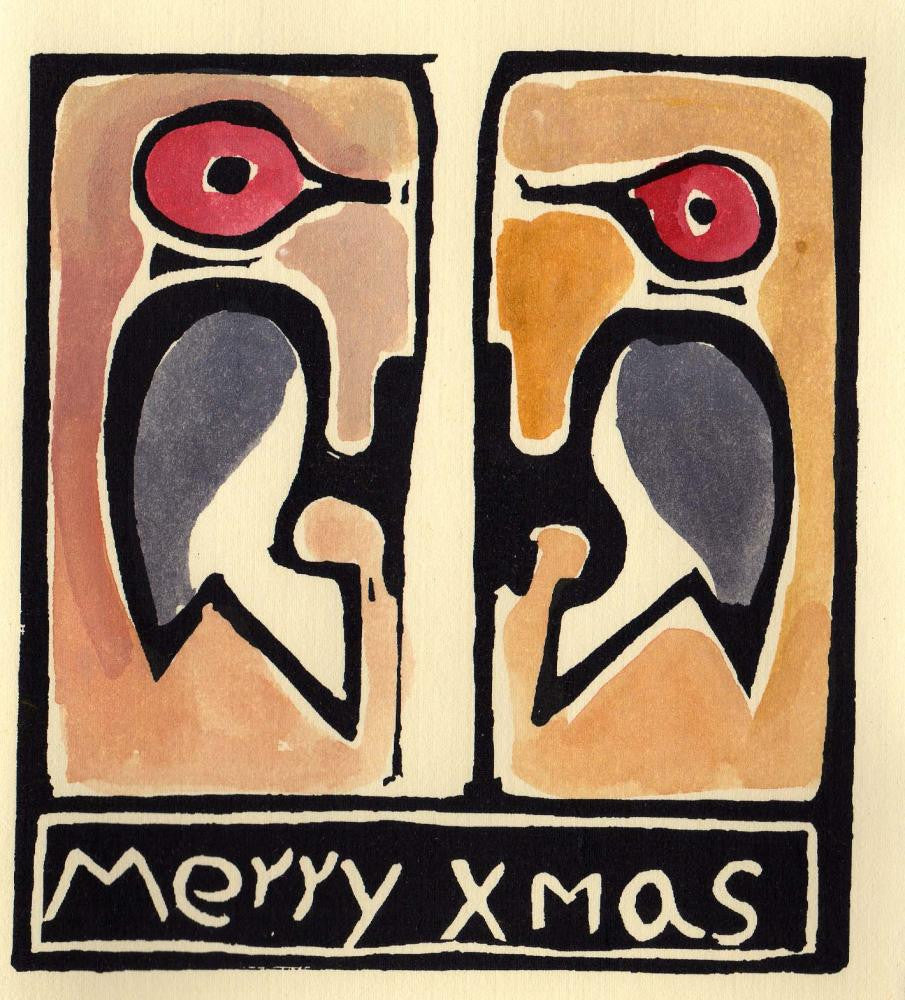 Merry X-Mas Woodpeckers