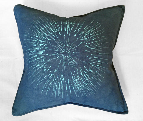 Sea Urchin Linen Pillow