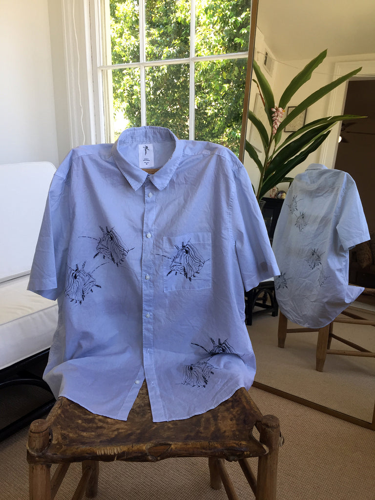 Lion Fish Button Down
