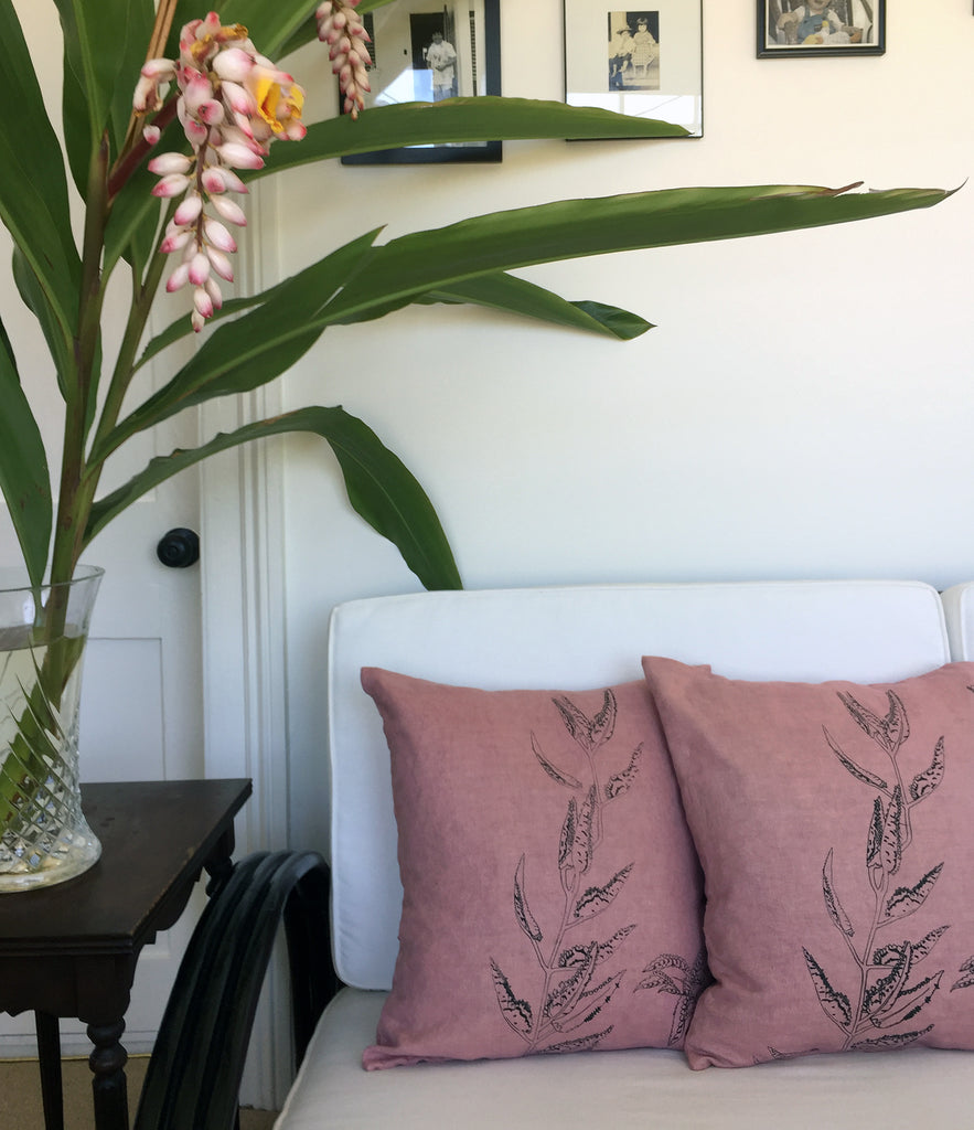 Mother of Millions Linen Pillow