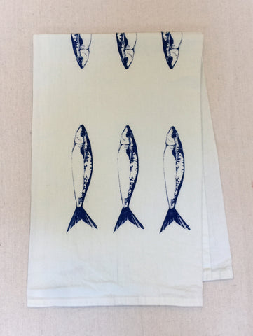 Sardine Tea Towel
