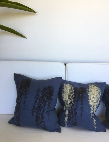 Spanish Moss Linen Pillow