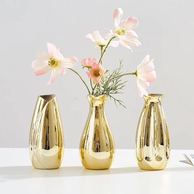 Beautiful Gold Vase For Living Room