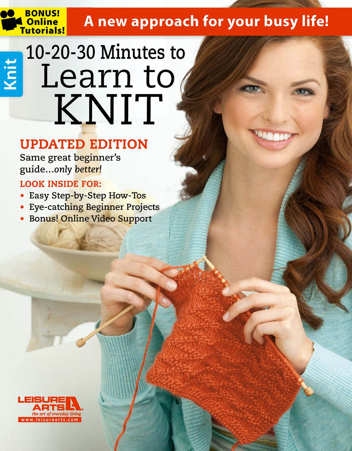 10- 20- 30 Minutes to Learn to Knit