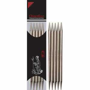 Chiaogoo Double Pointed Needles (stainless steel)