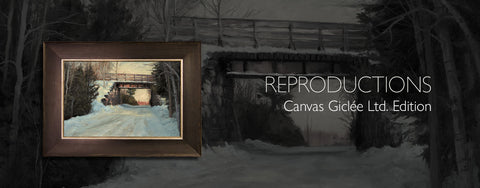 Reproductions- Canvas Giclée: Ltd. Editions