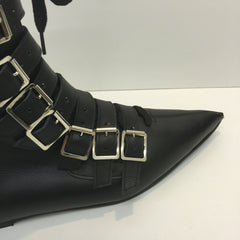 Original Pikes- 9 Buckle/Laces Boots