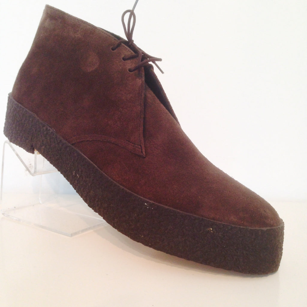 Chukka Playboy Boots in Brown Suede