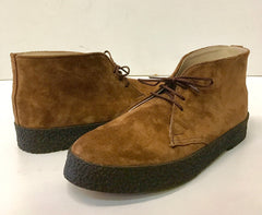 Chukka Playboy Boots in Tan Suede.
