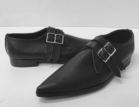 2 Strap Winklepicker Shoes.
