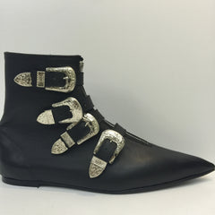 Original Pikes- Cowcoy Buckle Boots