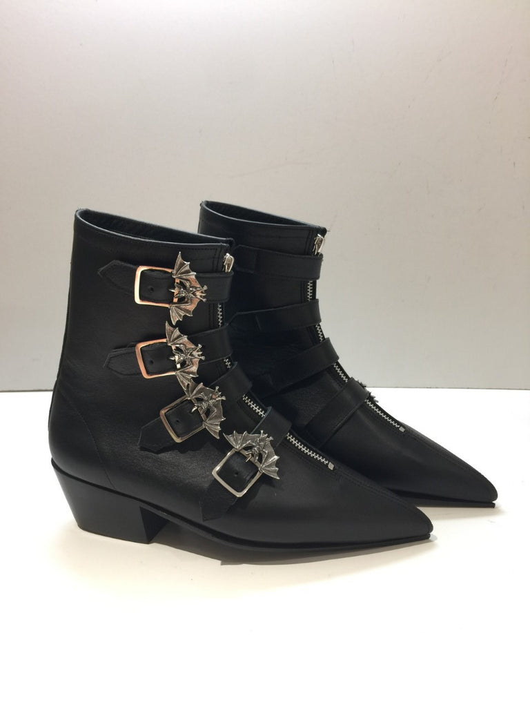 Original Pike Cuban Heel Bat Buckle Boots