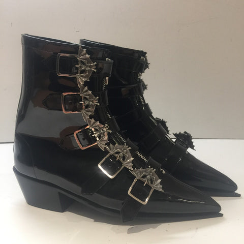 Original Pike Cuban Heel 5 Bat Buckle Boots