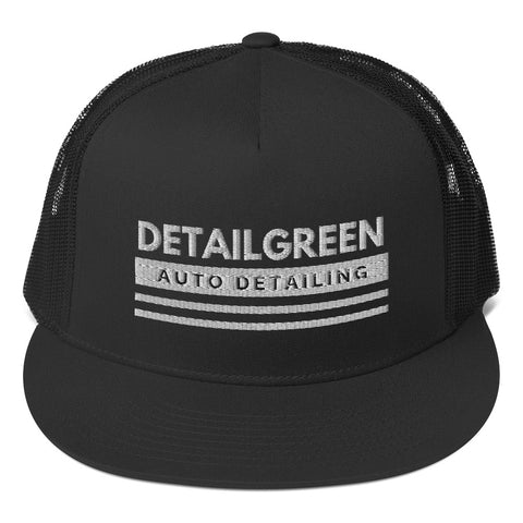 DETAIL GREEN_Trucker Cap