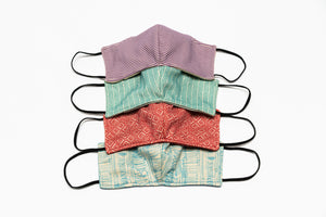 Upcycled Facemask Bundle-Pack (All four Colors)