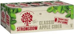 Strongbow Original Classic Apple Cider Can 10 Pack 375ml 5%
