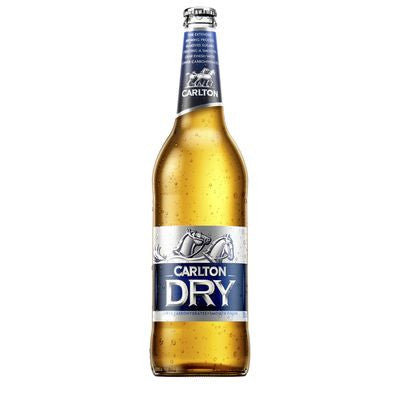 Carlton Dry Long Neck 700ml 4.5%