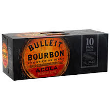 Bulleit & Cola Can 10pack 375ml 6%
