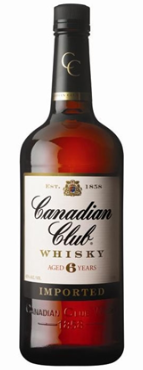 Canadian Club Whisky 200ml - 1Ltr 37%