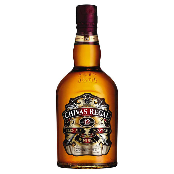 Chivas Regal 12 Year Old Scotch Whisky 700ml 40%