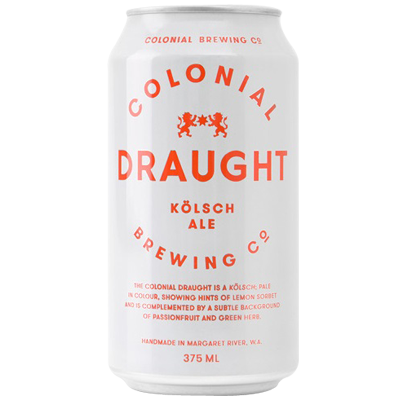 Colonial Draught Kolsch Ale 375ml 4.8%