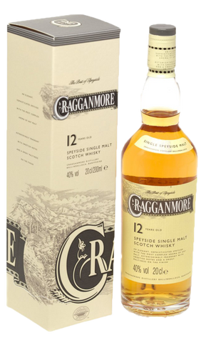 Cragganmore 12yo Single Malt Scotch Whisky 40% 700ml