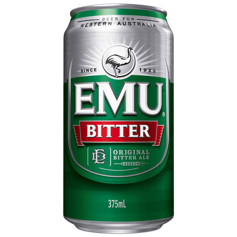 Emu Bitter Can 375ml 4%