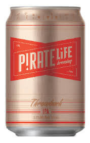 Pirate Life Throwback IPA Can 355ml 3.5%