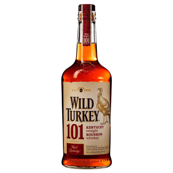 Wild Turkey 101 Proof Bourbon 700ml 50.5%