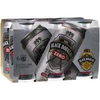 Black Douglas & Zero Can 6pack 375ml 4.6%