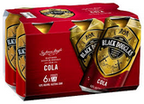 Black Douglas & Cola Can 6pack 375ml 4.6%
