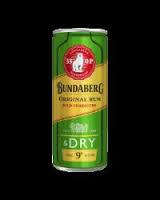 Bundaberg & Dry 33op Can 4pack 250ml 9%