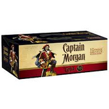 Captain Morgan & Cola Can 10pack 375ml 6%