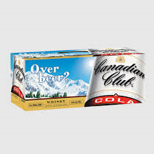 Canadian Club & Cola Can 10pack 375ml 4.8%