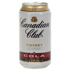 Canadian Club & Cola Can 6pack 375ml 4.8%