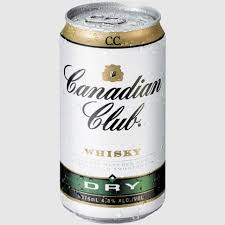 Canadian Club & Dry Can 6pack 375ml 4.8%