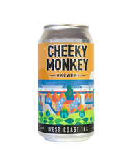 Cheeky Monkey West Coast IPA 375ml 6.5%