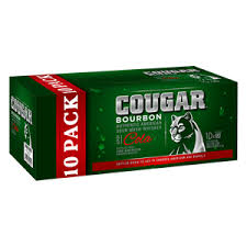 Cougar & Cola Can 10 Pack 375ml 4.7%