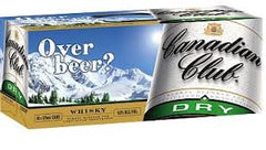 Canadian Club & Dry Can 10pack 375ml 4.8%