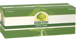 Somersby Apple Cider Can 10 Pack 375ml 4.5%